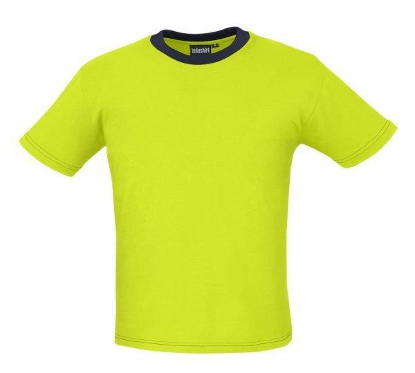 limegroen shirt voor mannen