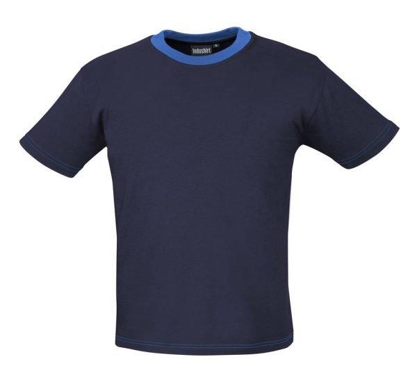 blauw werkshirt