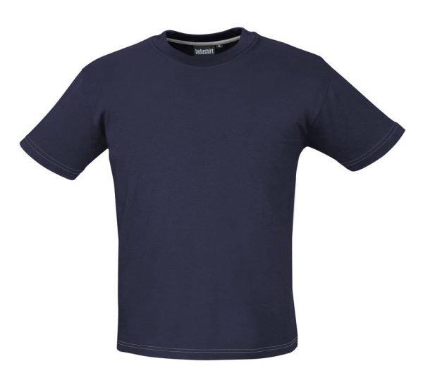 marineblauwe werk shirt