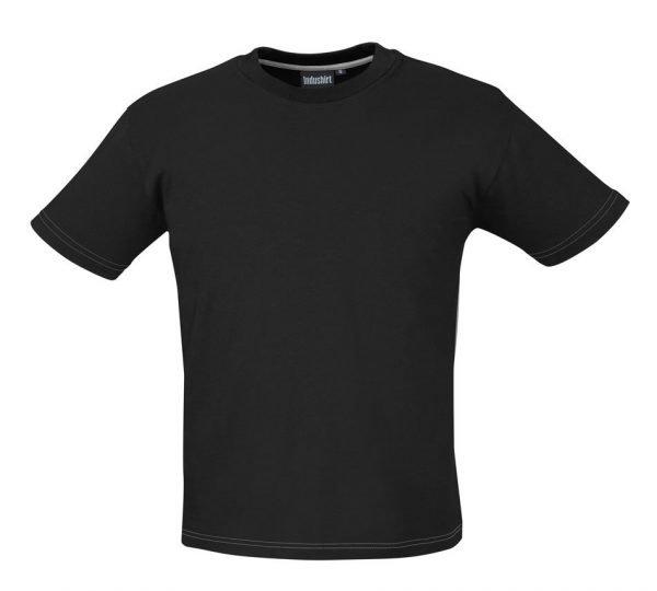 volledig zwart werk shirtje katoen