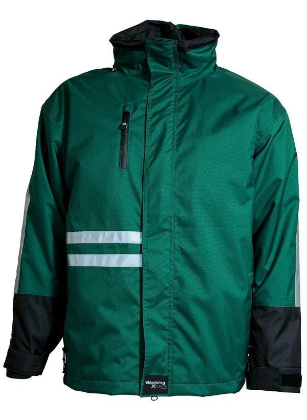 groen/zwart winterjas van ELKA