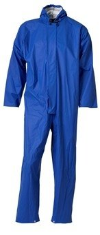 Blauwe cleaning overalls