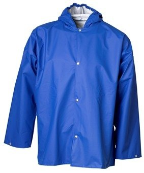 blauw Waterdichte poncho van ELKA