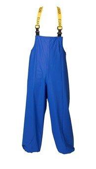 Korenblauw schoonmaak broek met bretels