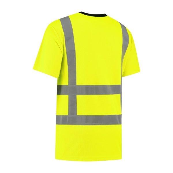 hi vis t shirt fluor geel