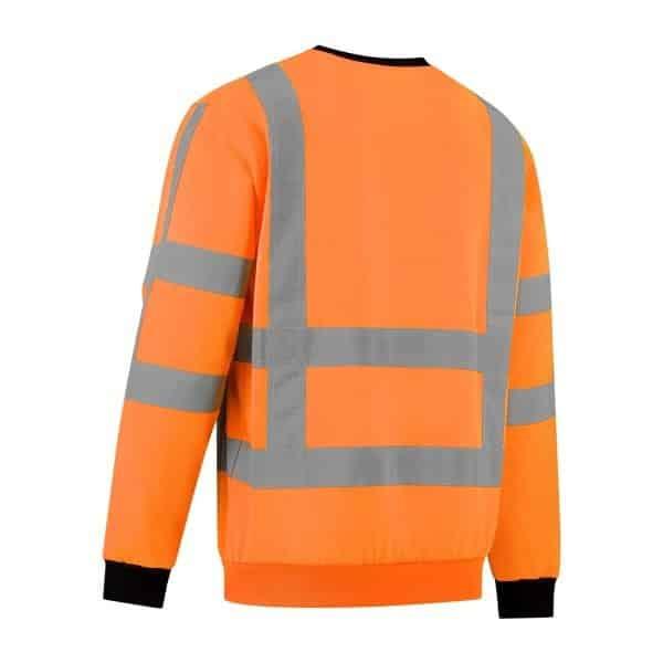 oranje Sweather high Visibility