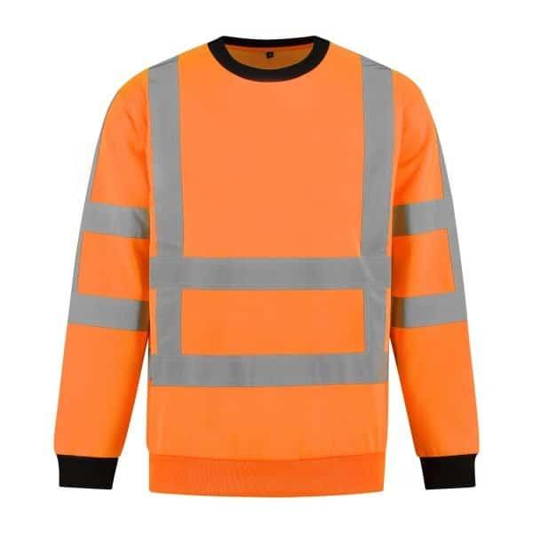 Fluo Oranje voorkant
