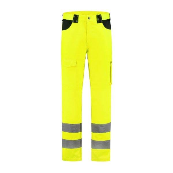 Fluor Geel rws broek voorkant
