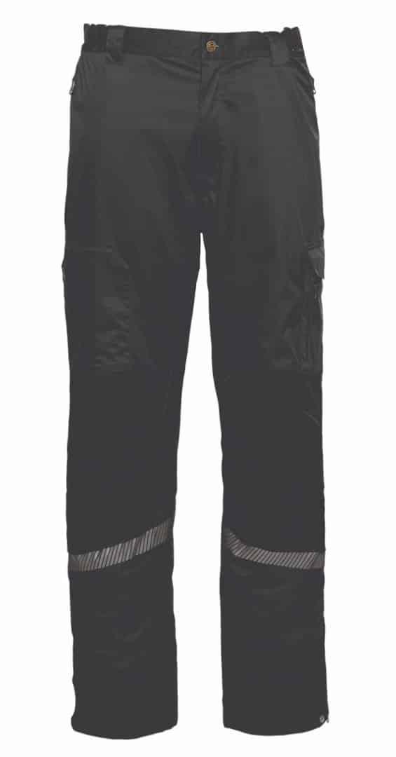ELKA lichtgewicht regenbroek zwart