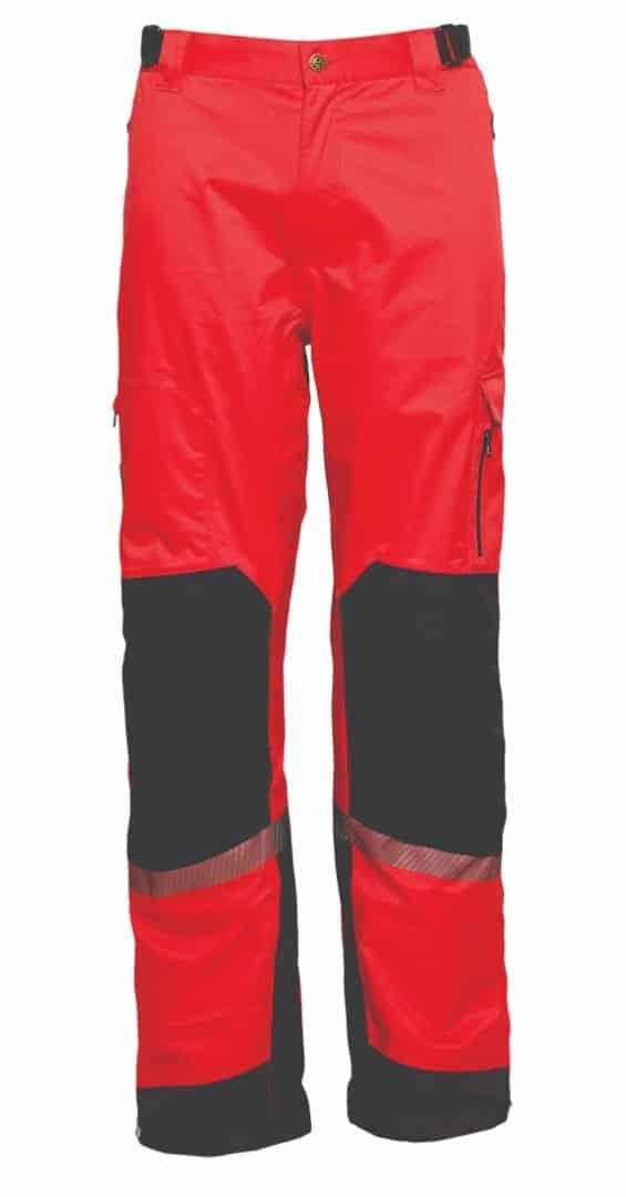 ELKA regenbroek rood/zwart