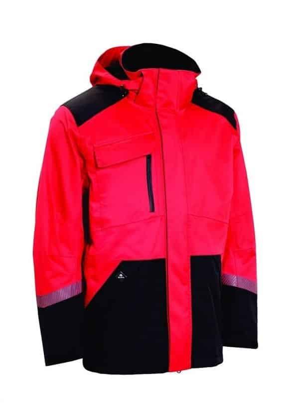 ELKA regenjas rood/zwart