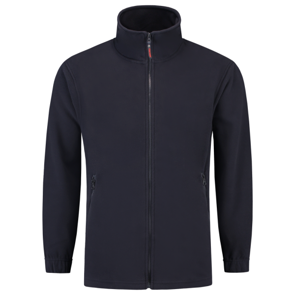 Marineblauw fleece vest